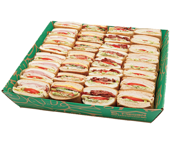 El Meson Sandwiches Catering Service Bandeja Sandwiches