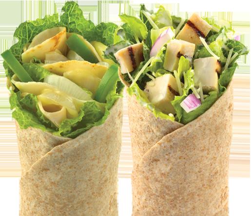 Wraps de El Meson Sandwiches