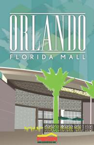 Orlando Florida Mall Afiche
