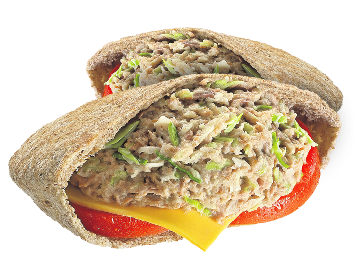 Pita Tuna Salad