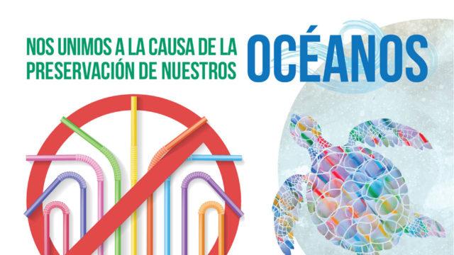 Nos unimos a la causa de la preservación de nuestros oceanos