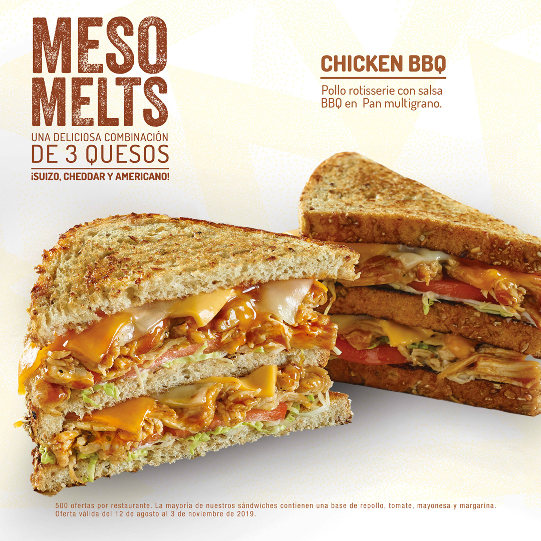 Chicken BBQ Melt